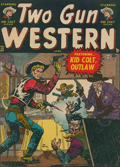 Two Gun Western 13-A by Marvel