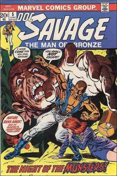 Doc Savage (1972) 5-A by Marvel