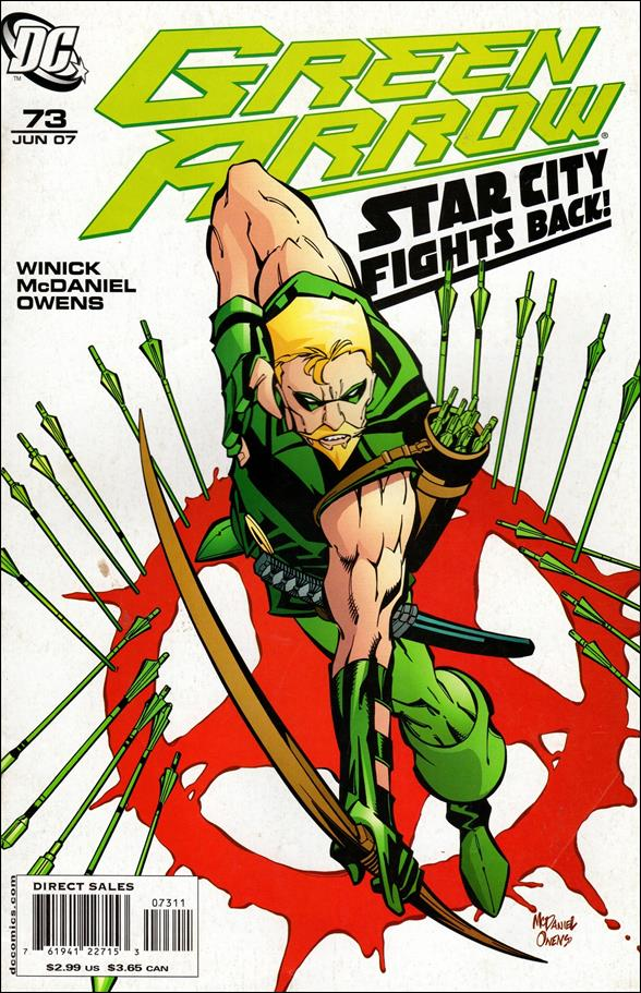Green Arrow (2001) 73-A by DC