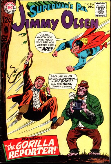 Superman's Pal Jimmy Olsen 116-A by DC