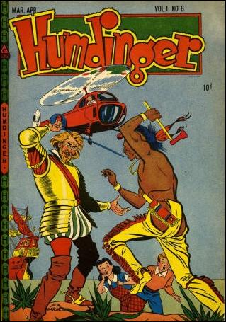 Humdinger (1946) 6-A by Novelty Press
