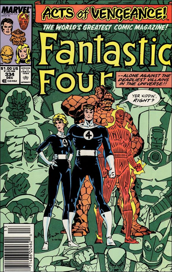 Fantastic Four (1961) 334-A by Marvel