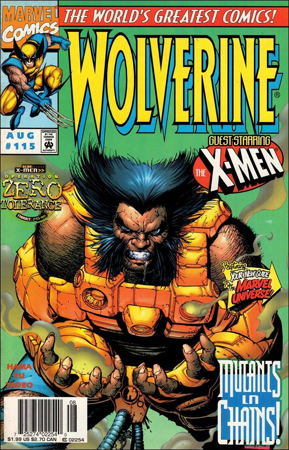 Wolverine (1988)  115-A by Marvel