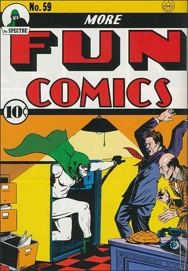 More Fun Comics 59-A by DC