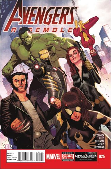 Avengers Assemble (2012) 25-A by Marvel
