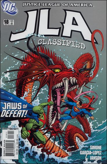 JLA: Classified 18-A by DC