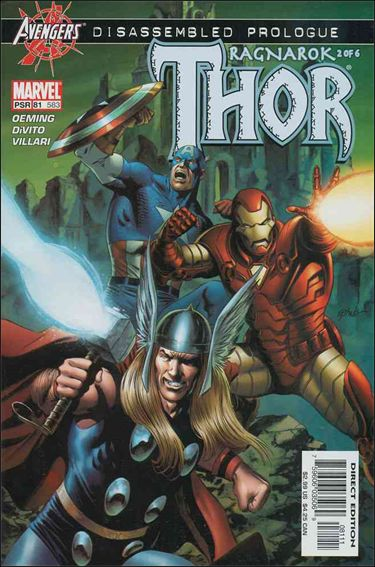 Thor (1998) 81-A by Marvel
