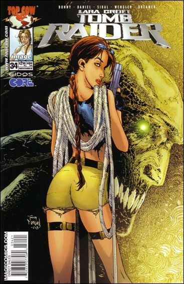 Tomb Raider: The Series 34-B by Top Cow