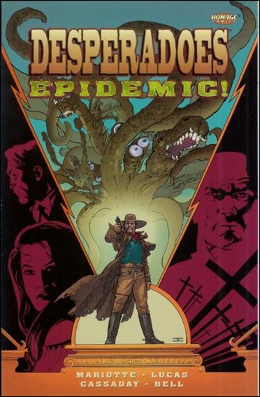Desperadoes: Epidemic 1-A by Homage Comics