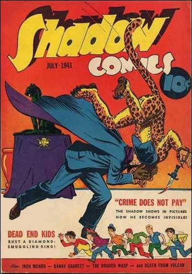 Shadow Comics (1940) 11-A by Street and Smith Publications
