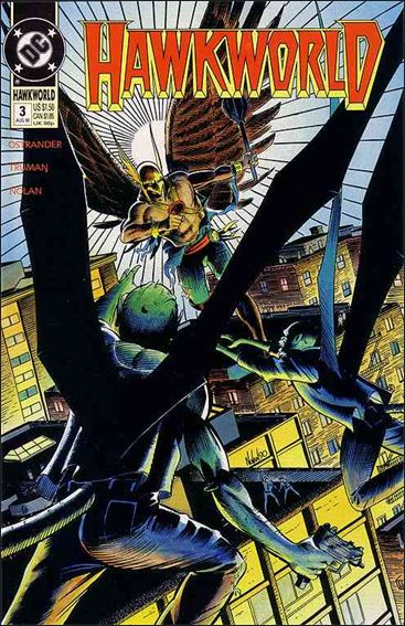 Hawkworld (1990) 3-A by DC