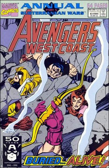 Avengers West Coast Annual 6-A by Marvel