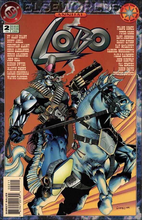Lobo Annual (1993) 2-A by DC