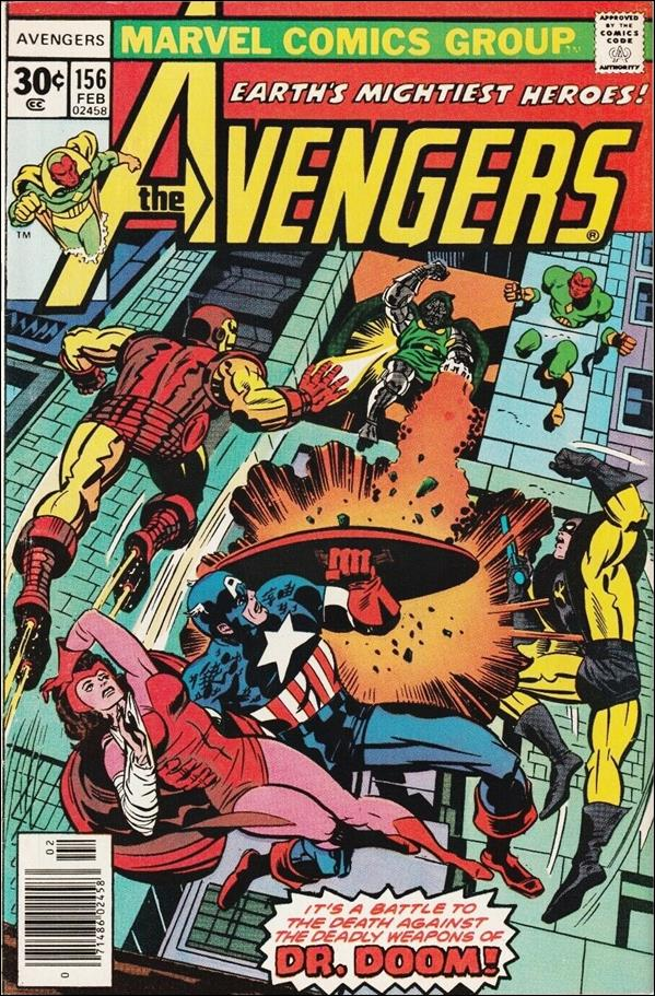 Avengers (1963) 156-A by Marvel