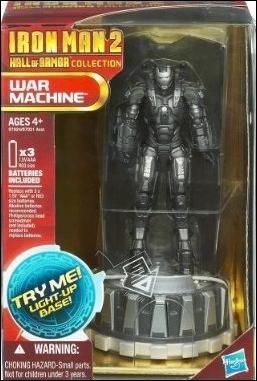 Iron Man 2 (Hall of Armor) War Machine by Hasbro