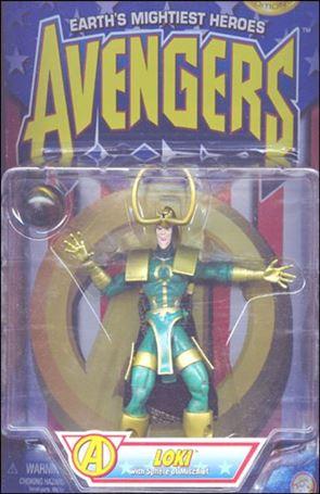 Avengers (1997) Loki (w/ Sphere of Mischief)