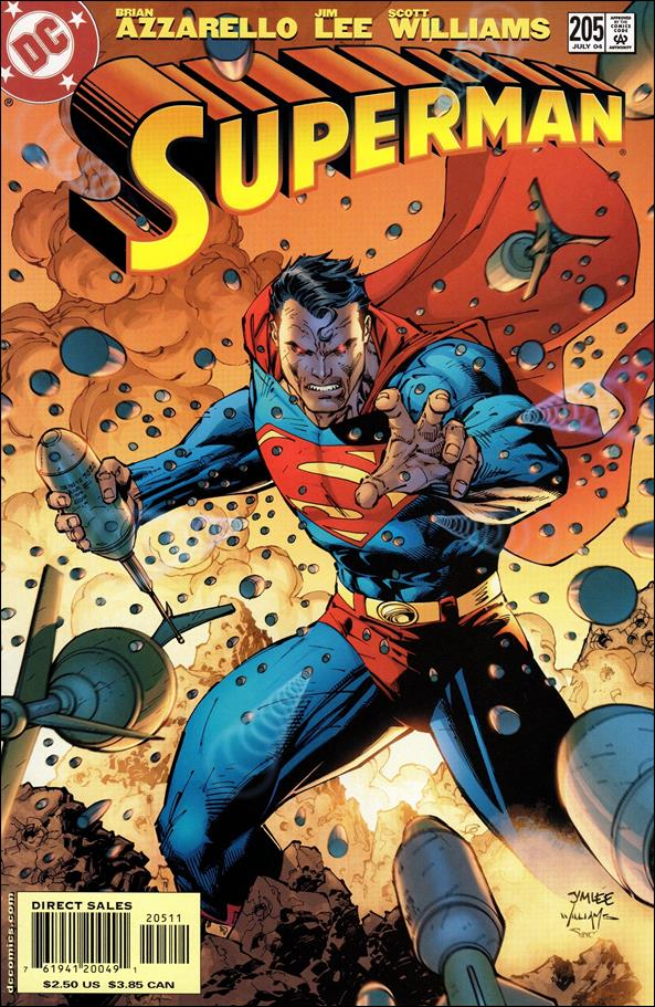 Superman (1987) 205-A by DC