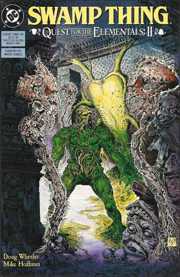 Swamp Thing (1986) 105-A by Vertigo