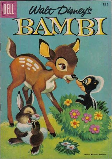 Bambi (1956) 3-B by Dell