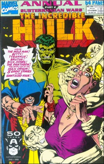 Incredible Hulk Annual  17-A by Marvel