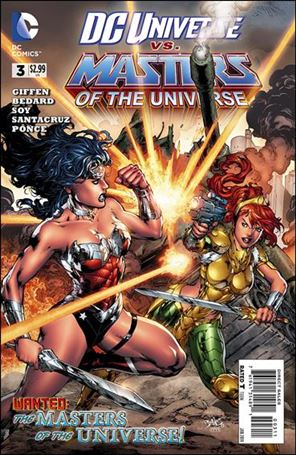 DC Universe vs Masters of the Universe 3-A