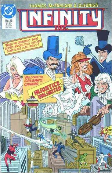 Infinity Inc. (1984) 35-A by DC
