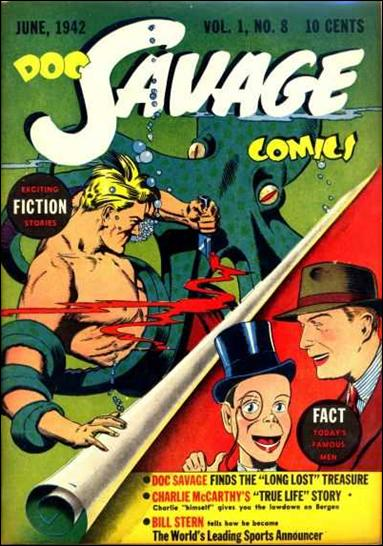 Doc Savage Comics (1940) 8-A by Street and Smith Publications