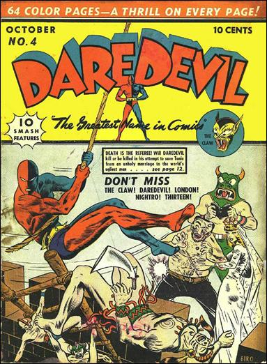 Daredevil (1941) 4-A by Lev Gleason Productions