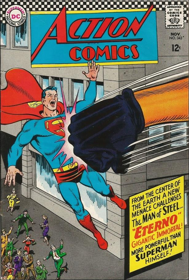 Action Comics (1938) 343-A by DC