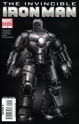 Invincible Iron Man (2008) 1-L by Marvel