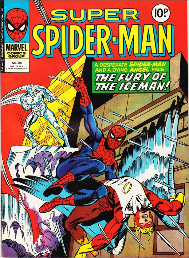Spider-Man: Comics Weekly (UK) 303-A by Marvel UK