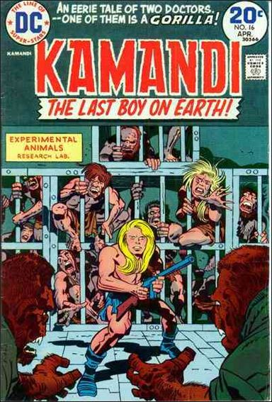 Kamandi, the Last Boy on Earth 16-A by DC