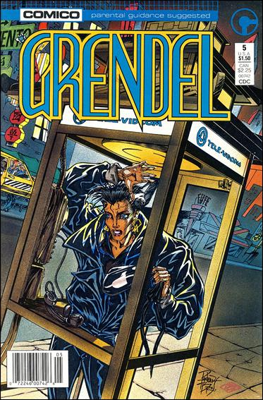 Grendel (1986) 5-A by Comico