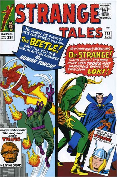 Strange Tales (1951) 123-A by Marvel