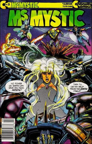 Ms. Mystic (1988) 2-A by Continuity Comics