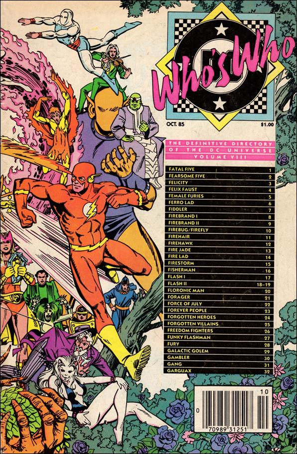Who's Who: The Definitive Directory of the DC Universe 8-A by DC