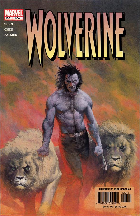 Wolverine (1988)  184-A by Marvel