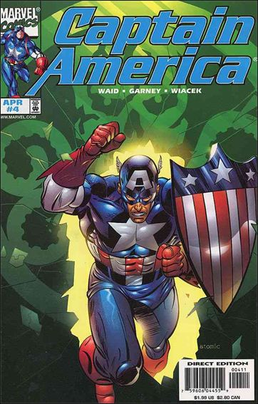 Captain America (1998) 4-A by Marvel