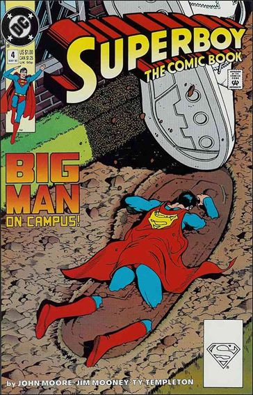 Superboy (1990) 4-A by DC