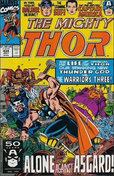 Thor (1966) 434-A by Marvel