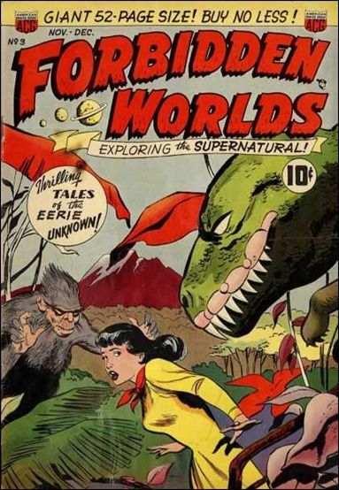Forbidden Worlds (1951) 3-A by American Comics Group (ACG)