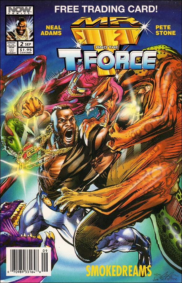 Mr. T and the T-Force 2-A by Now Comics