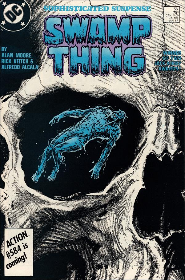 Swamp Thing (1986) 56-A by Vertigo