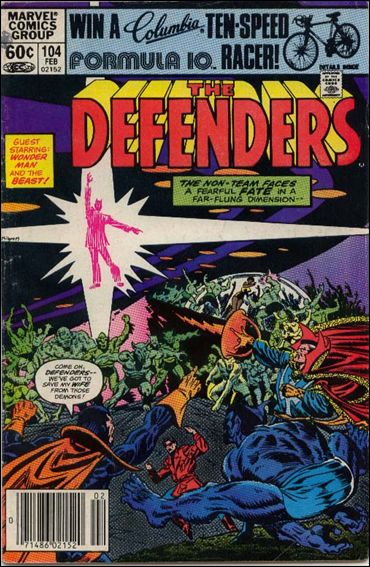 Defenders (1972) 104-A by Marvel