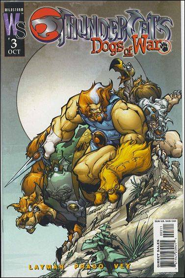 ThunderCats: Dogs of War 3-B by WildStorm