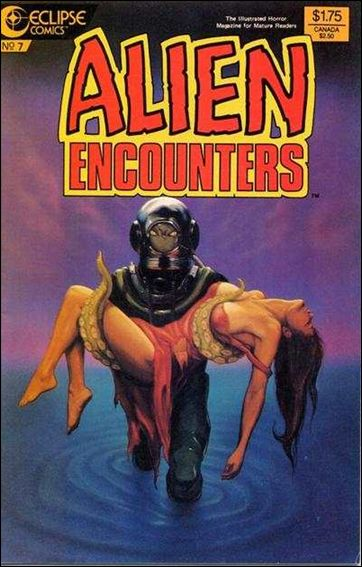 Alien Encounters (1985) 7-A by Eclipse