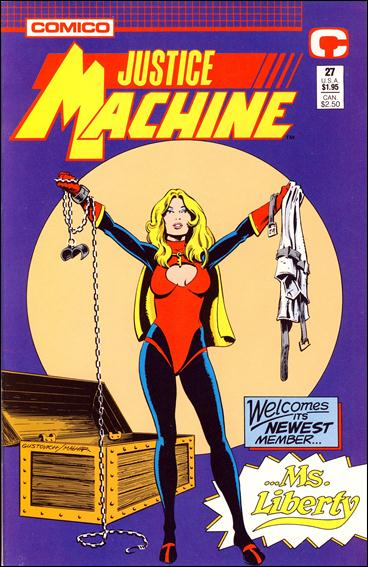 Justice Machine (1987) 27-A by Comico
