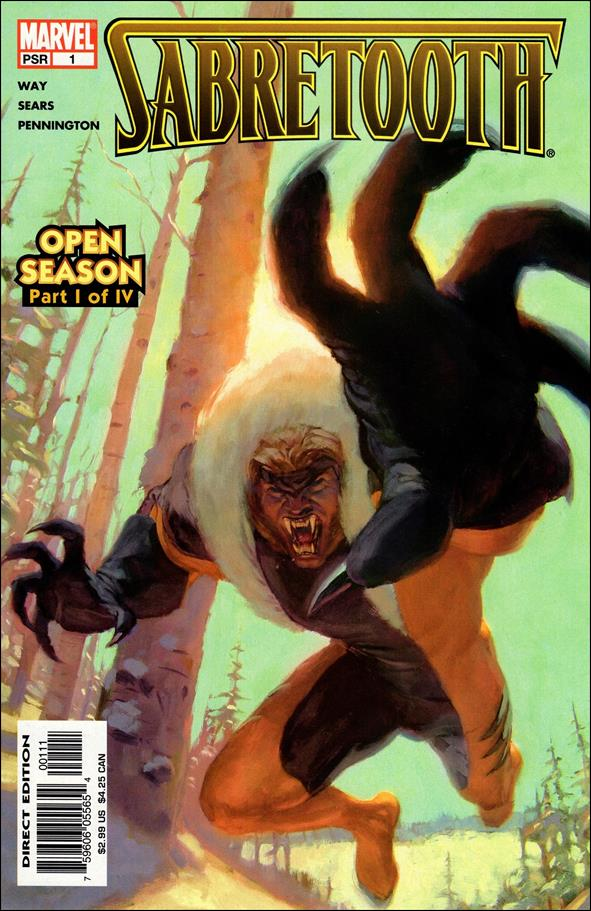 Sabretooth (2004) 1-A by Marvel