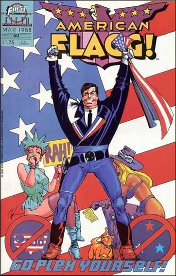 American Flagg! (1983) 50-A by First