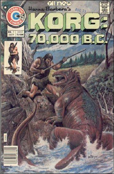 Korg: 70,000 B.C. 3-A by Charlton